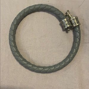 Alex and Ani Leather wrapped bracelet